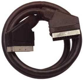 Cable scart to scart full pin21 long 1,5m 10vnt